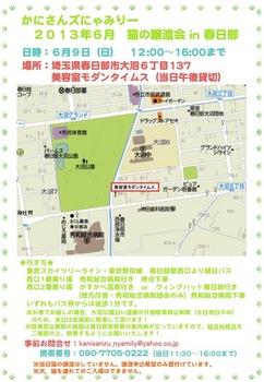2013年6月かにさんズにゃみりー譲渡会in春日部.jpg
