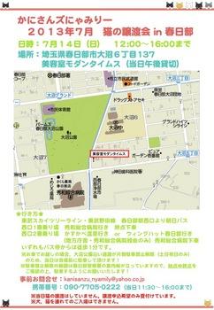 2013年7月かにさんズにゃみりー譲渡会in春日部.jpg