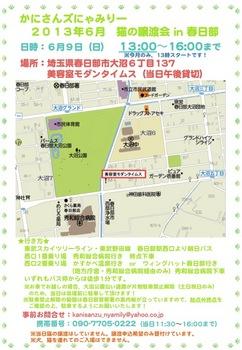 時間変更_2013年6月かにさんズにゃみりー譲渡会in春日部.jpg